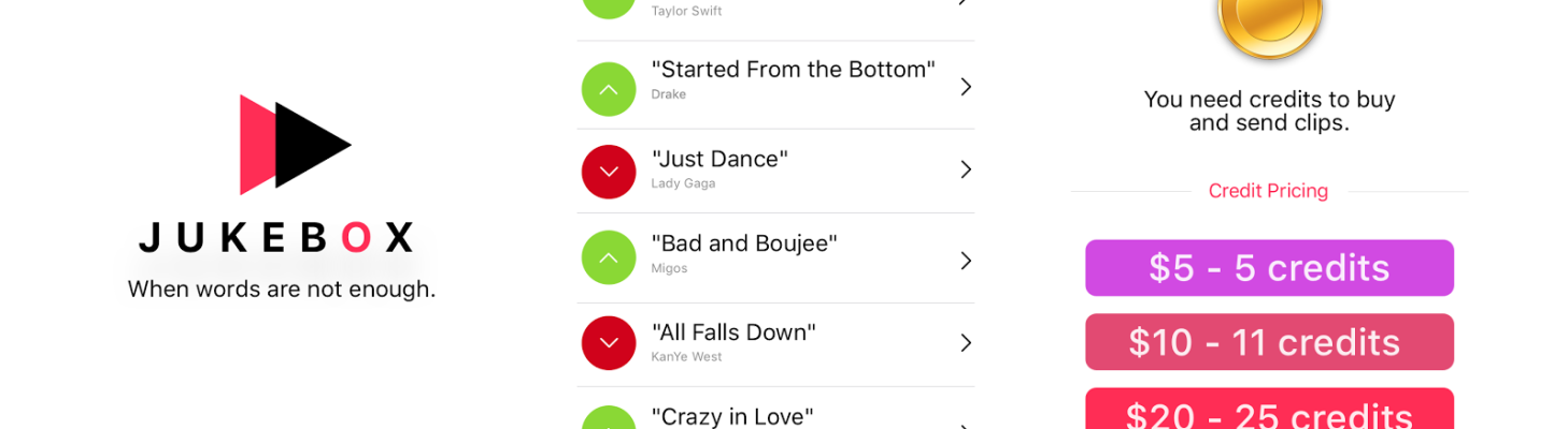Building Jukebox: A viral way to share music when a simple text, meme, or gif isn't enough
