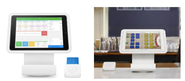 Vend of TouchBistro Point of Sale with Square Stand and contactless + EMV reader