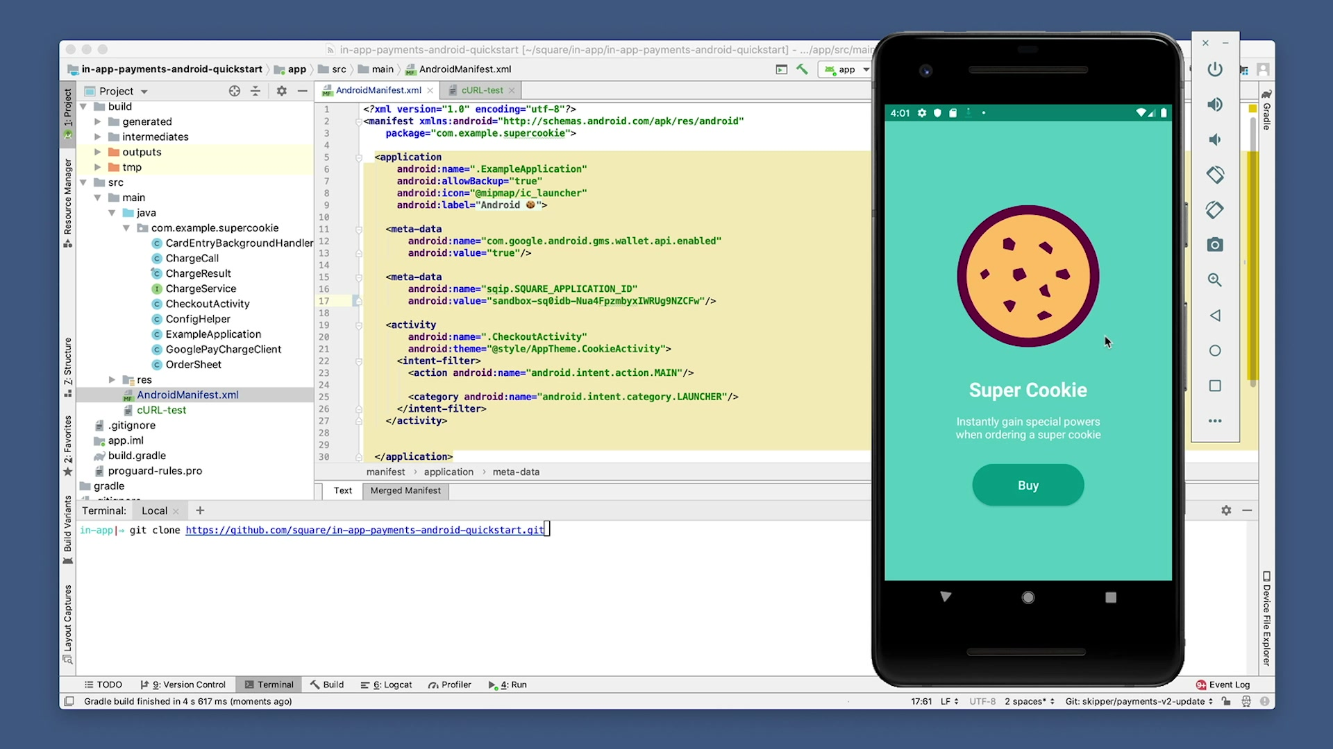 Android Studio Super Cookie
