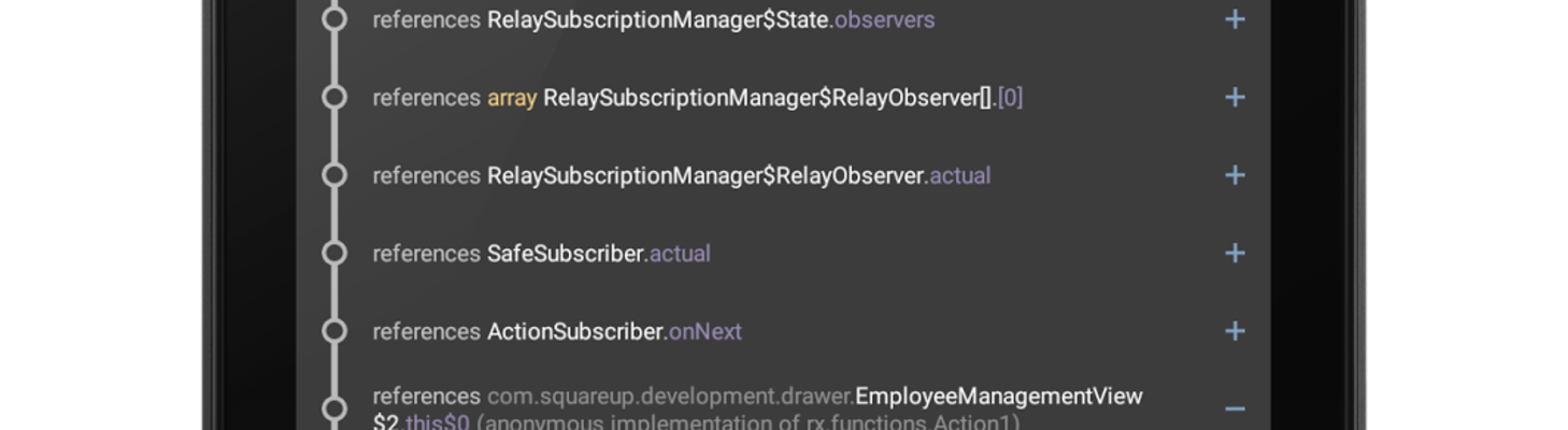 Android leak pattern: subscriptions in views