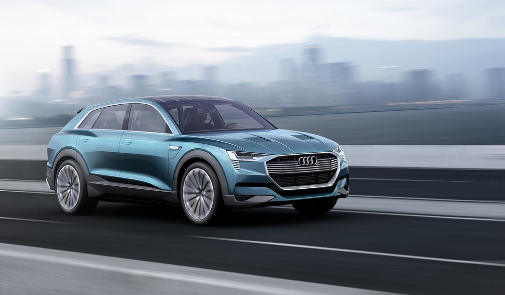 Electric cars Audi E-Tron