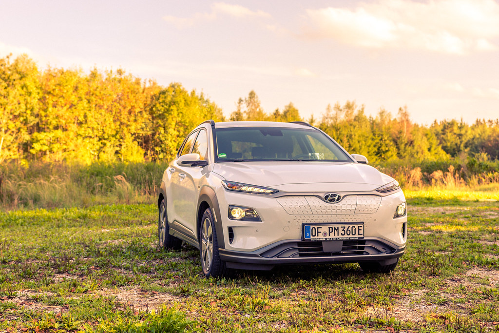 Electric cars Hyundai Kona