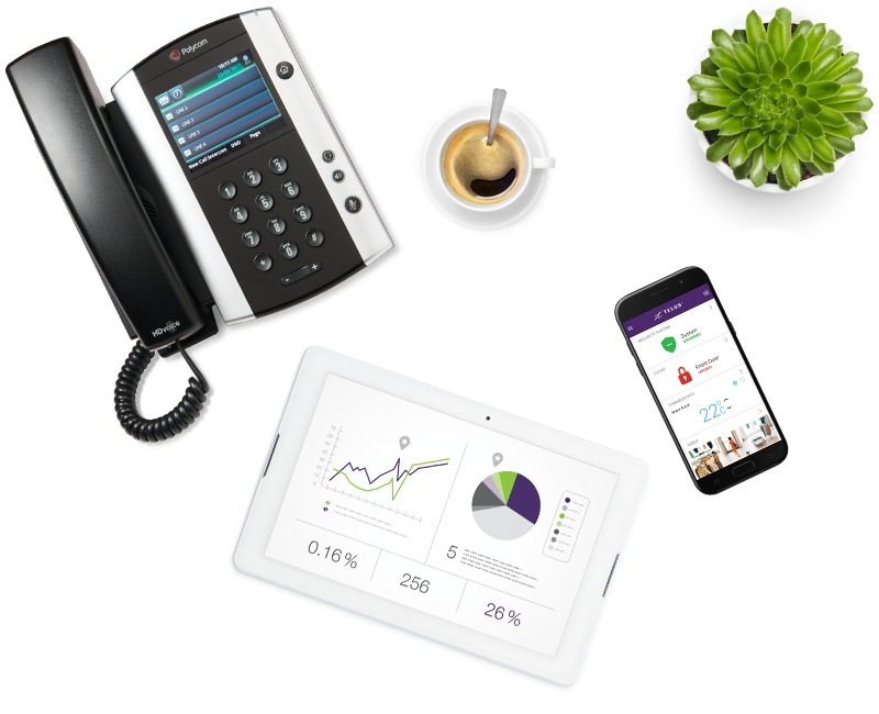 Business Connect - Phone & Hosted VoIP System | TELUS Business