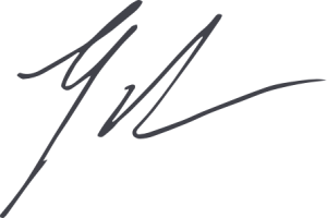 Signature of Gordon Ritter