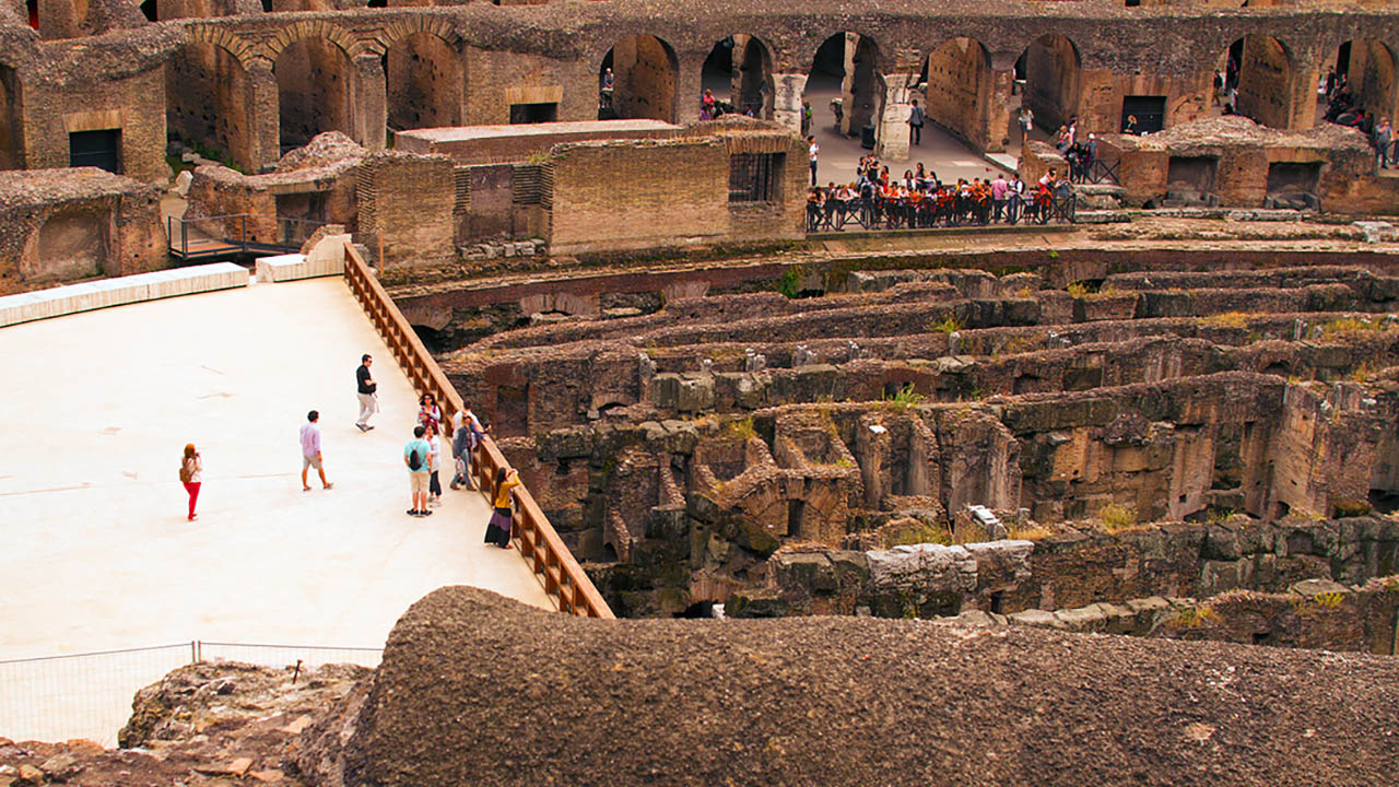 Gladiator S Gate Colosseum Arena Floor Tour Take Walks Rome