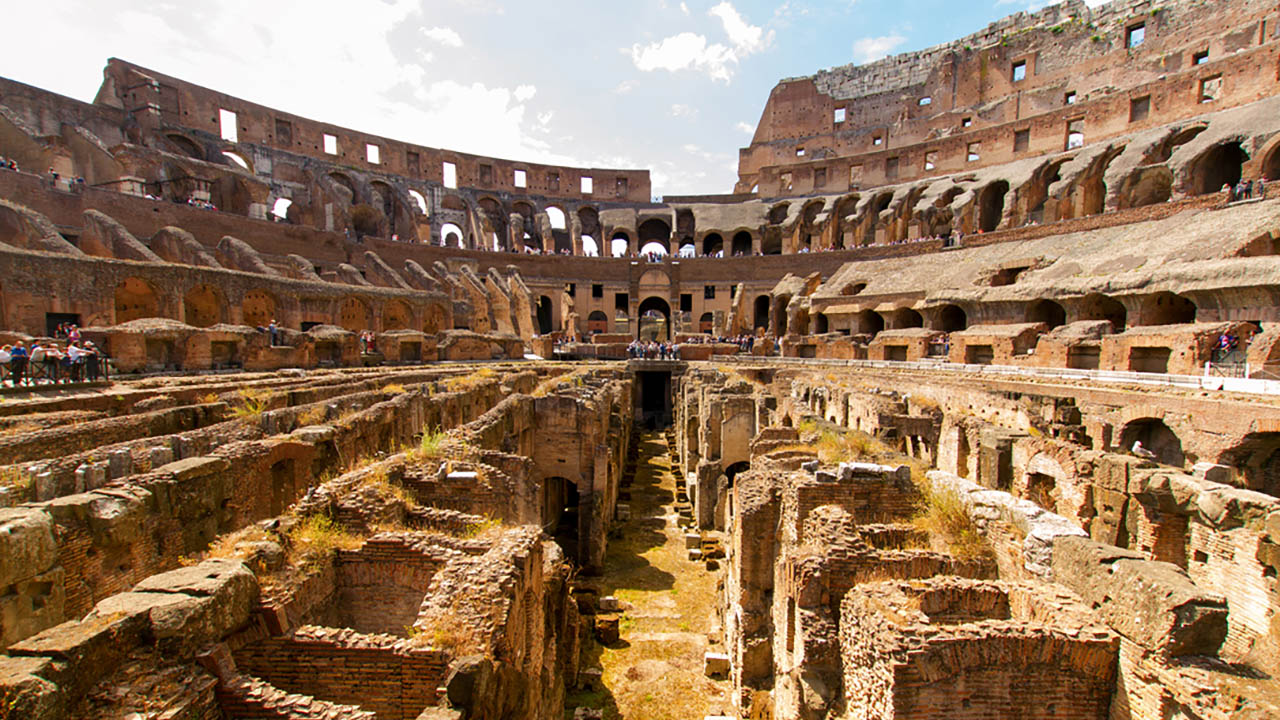 Colosseum Underground Tours: In The Footsteps Of