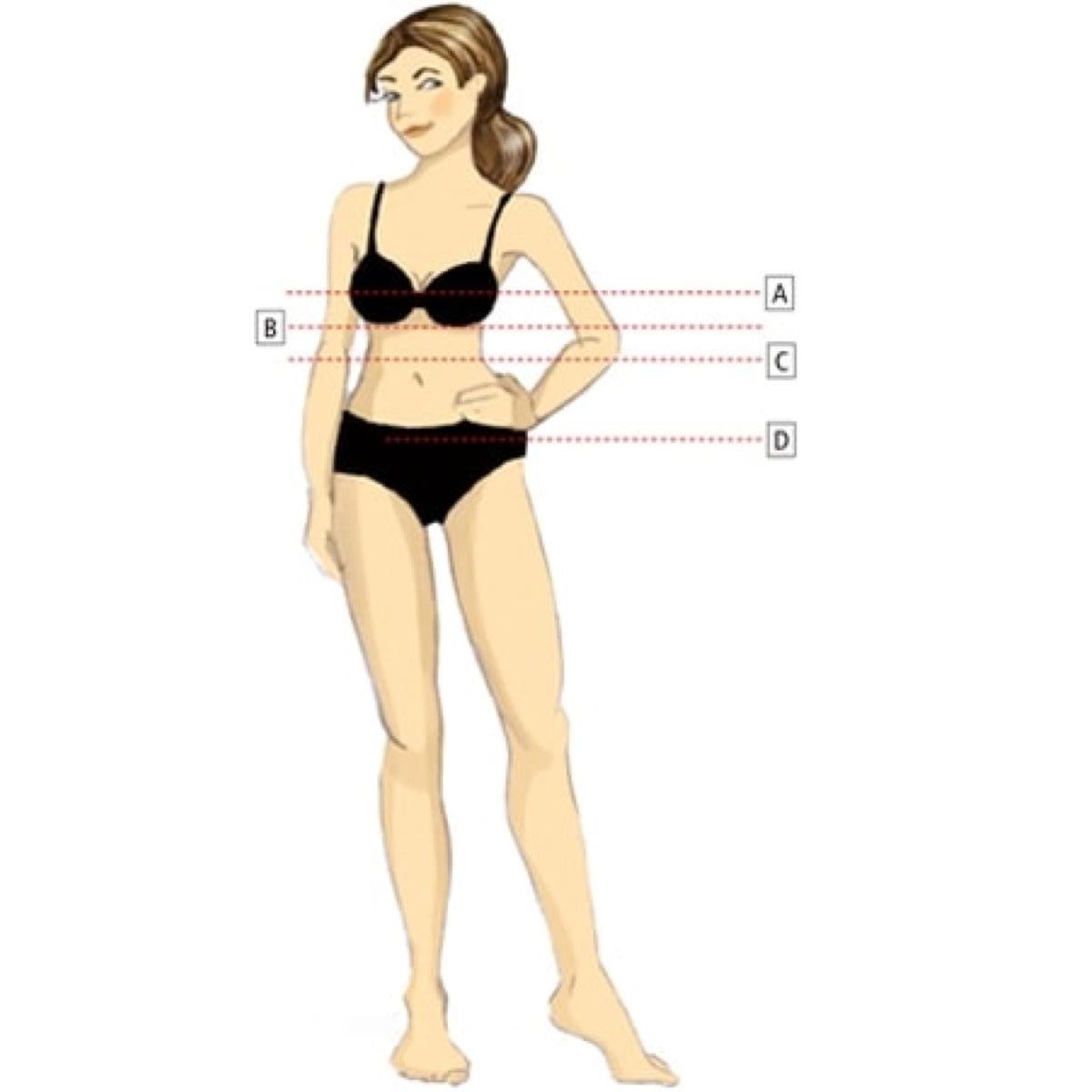 Velikostní tabulky pro ženy