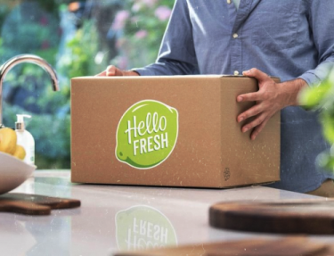 Hellofresh customer case door webflight