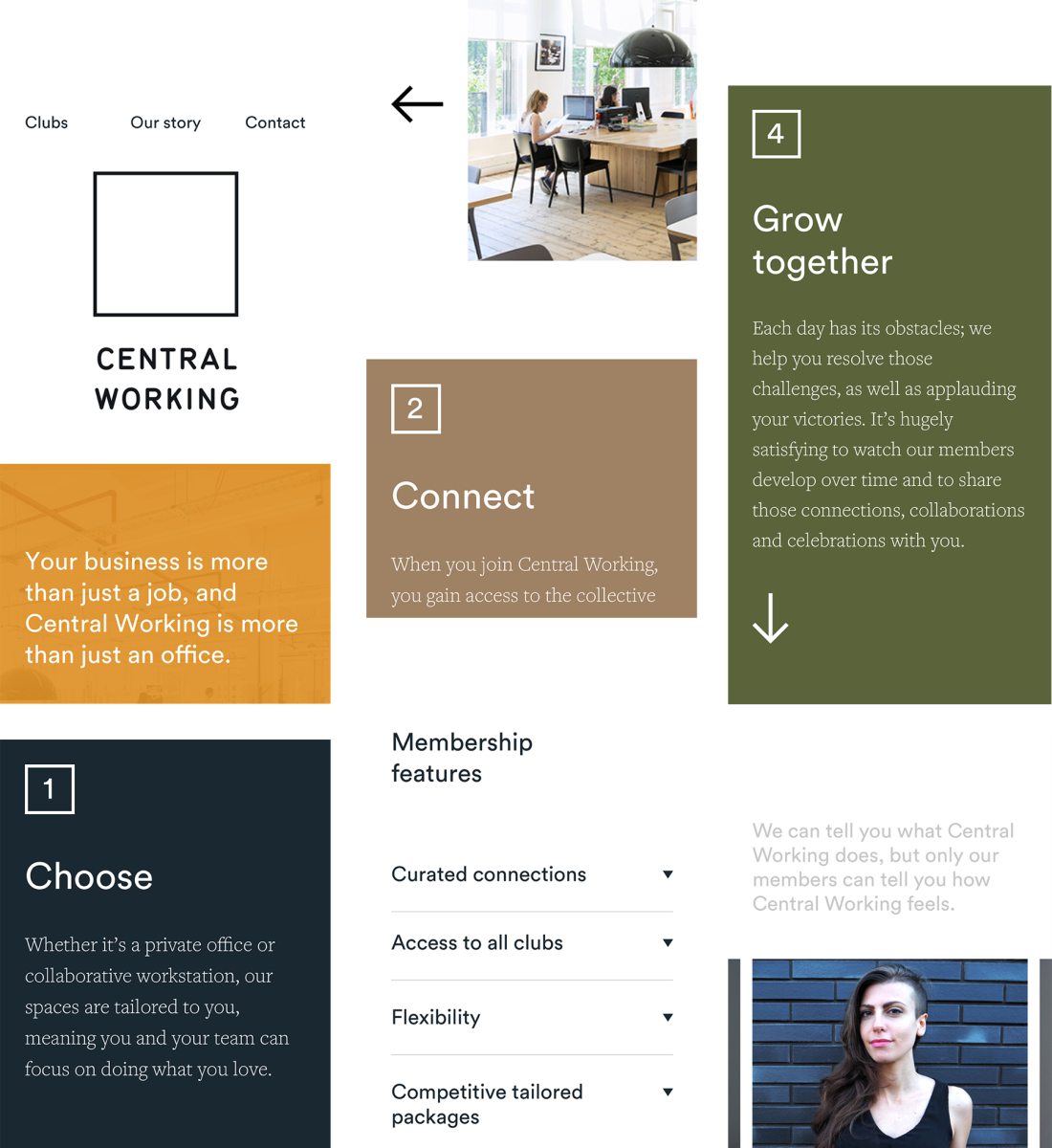 Central working mobile designs