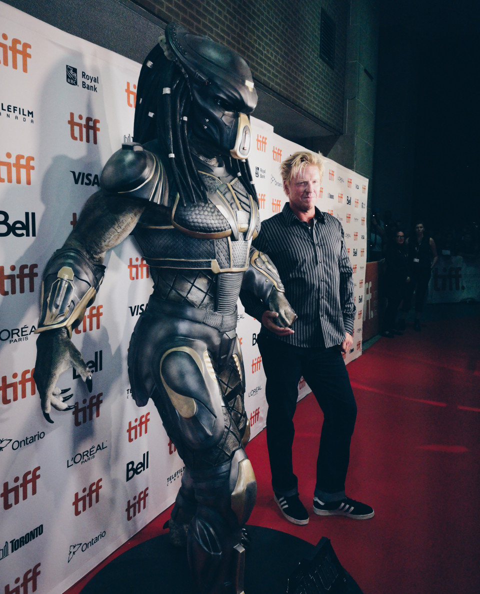 Predator-red carpet
