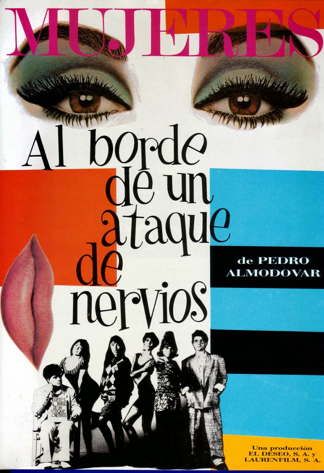 Pedro Almodvars Posters Are As Sumptuous His Films Short Circuit 2 27x40 Movie Poster 1988 Juan Gatti Women On The Verge Of A Nervous Breakdown Spanish El Deseo Laurenfilm 27 X 39
