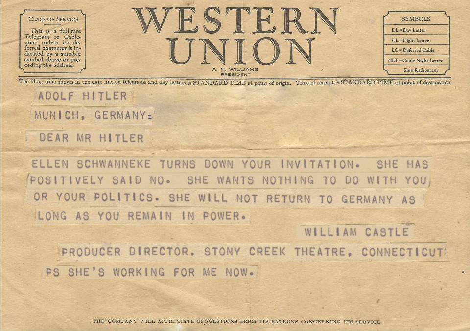 007-Girl Who Said No to Hitler-Telegram-fake