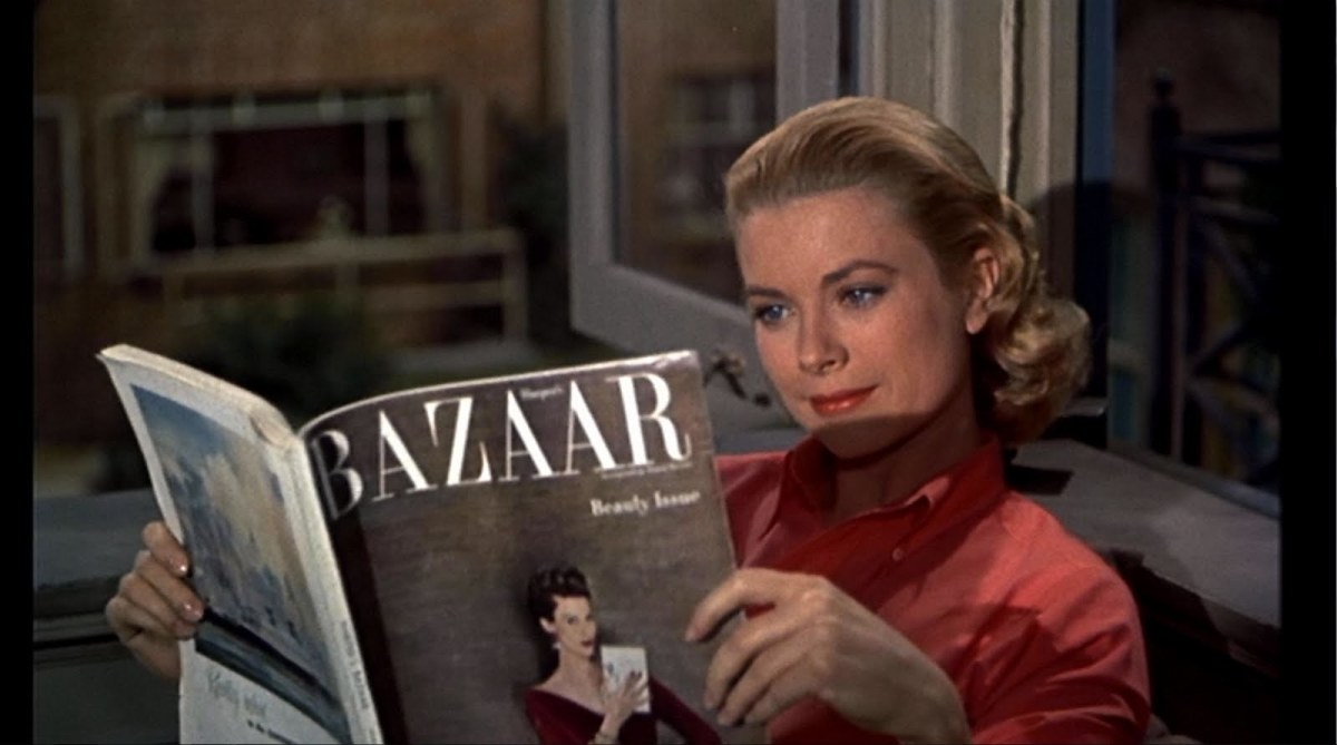 rear window is the ultimate summer movie in rear window and especially in hitchcock we experience women only if they are women in danger or women dead or women living pint sized dollhouse