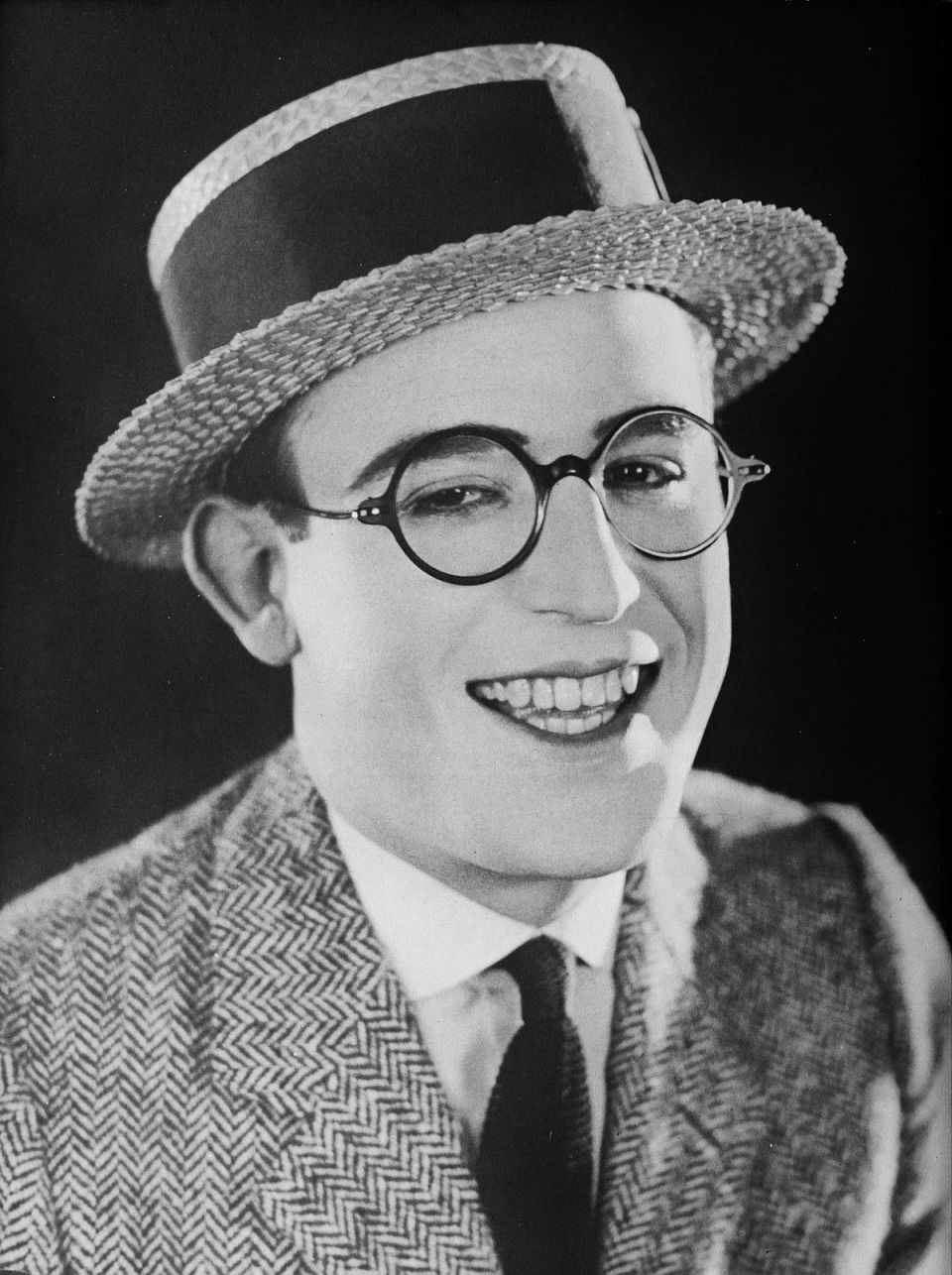 A Harold Lloyd - A Pictorial History of the Silent Screen