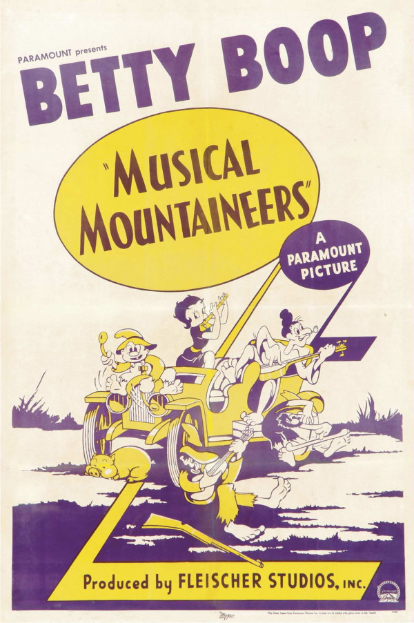 008a-1939-Betty Boop-Musical Mountaineers