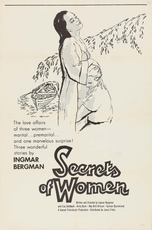 16b-1961-Secrets of Women-US one sheet