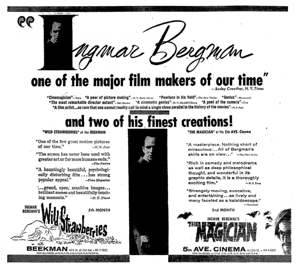 04-1959-09-27 Wild Strawberries and Magician