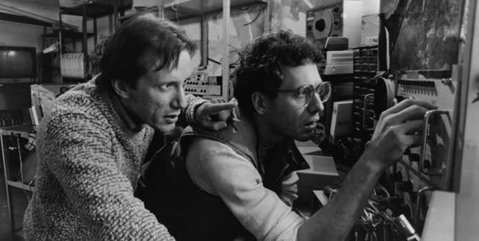 David Cronenberg and Ron Sanders on Videodrome