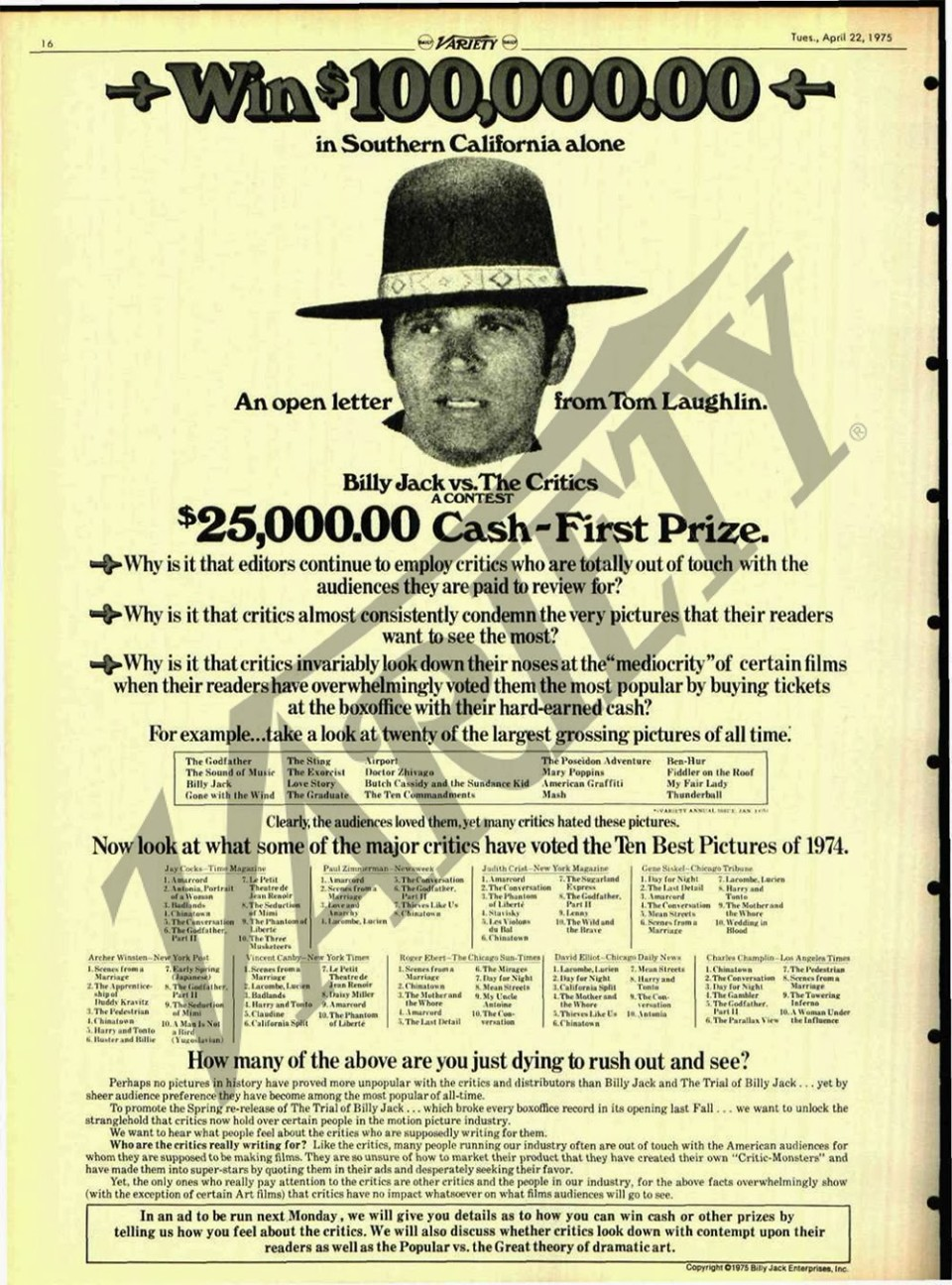 billy jack vs critics hi rez