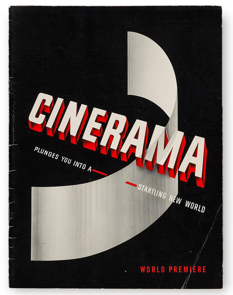 From Oklahoma To Dunkirk A Brief History Of 70mm In Posters Short Circuit 2 27x40 Movie Poster 1988 This Is Cinerama World Premiere Programme 1952