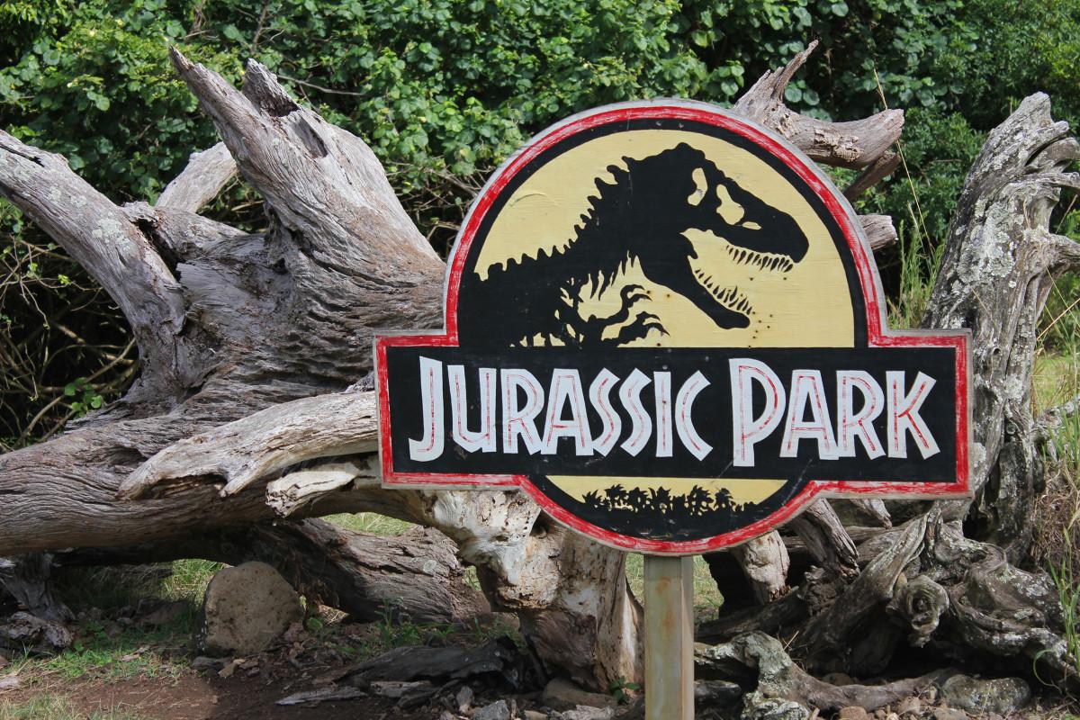 The Hidden History Of Jurassic Park Logo