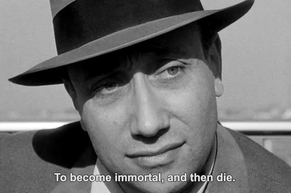 Melville in Breathless