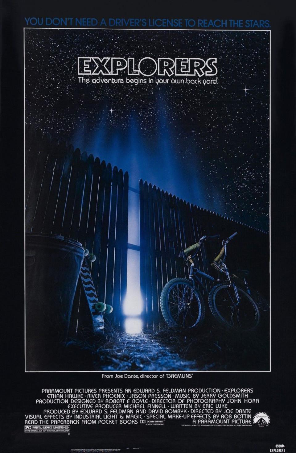 Dante Speaks Part One A Conversation With Gremlins Guru Joe Short Circuit 2 27x40 Movie Poster 1988 Explorers Us Sheet 1985 Paramount Pictures 27 X 40