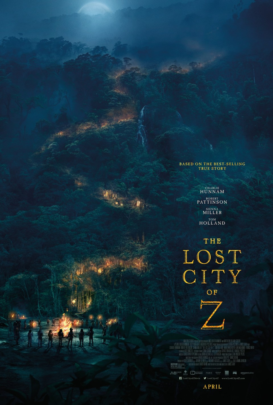Lost City of Z - B O N D