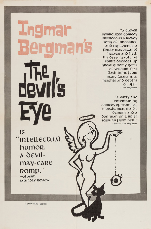 16a-1961-Devils Eye-US one sheet