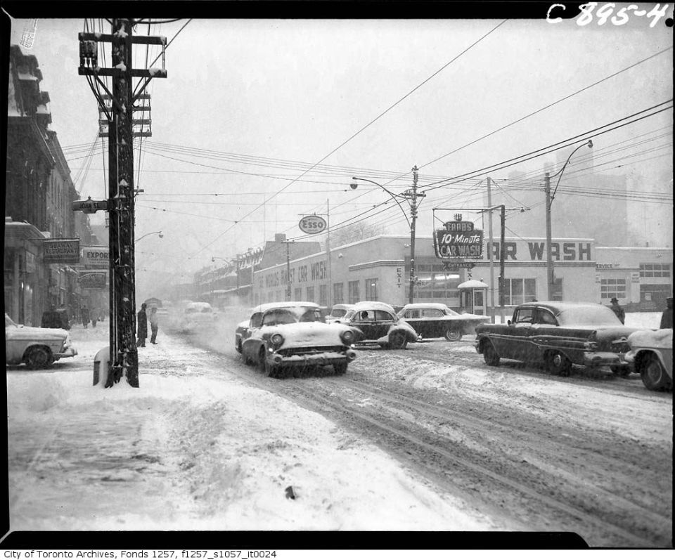 Future TBLB site, King West & John Streets, early 1960s