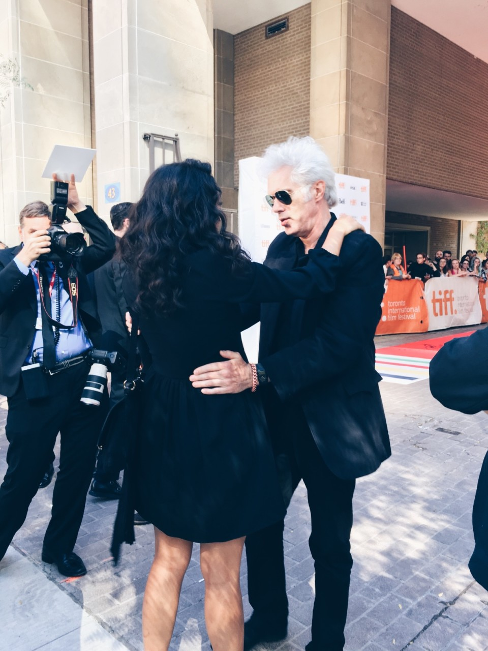 Jim Jarmusch hugging or waltzing  (1)