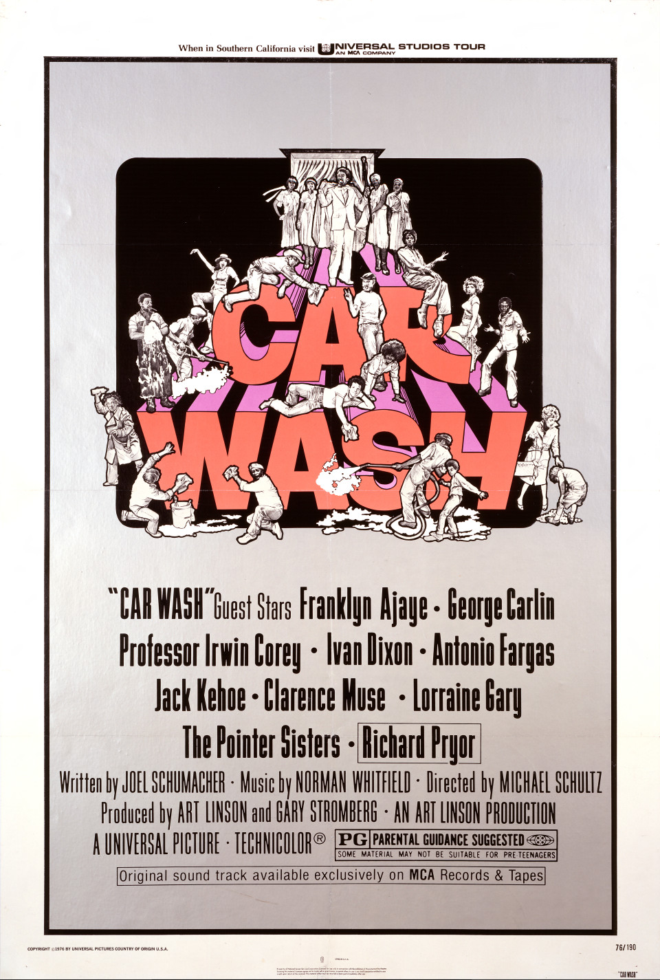 The *Car Wash* soundtrack marked the move from Motown to disco