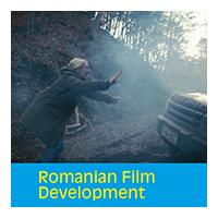 Romanian Film Development logo