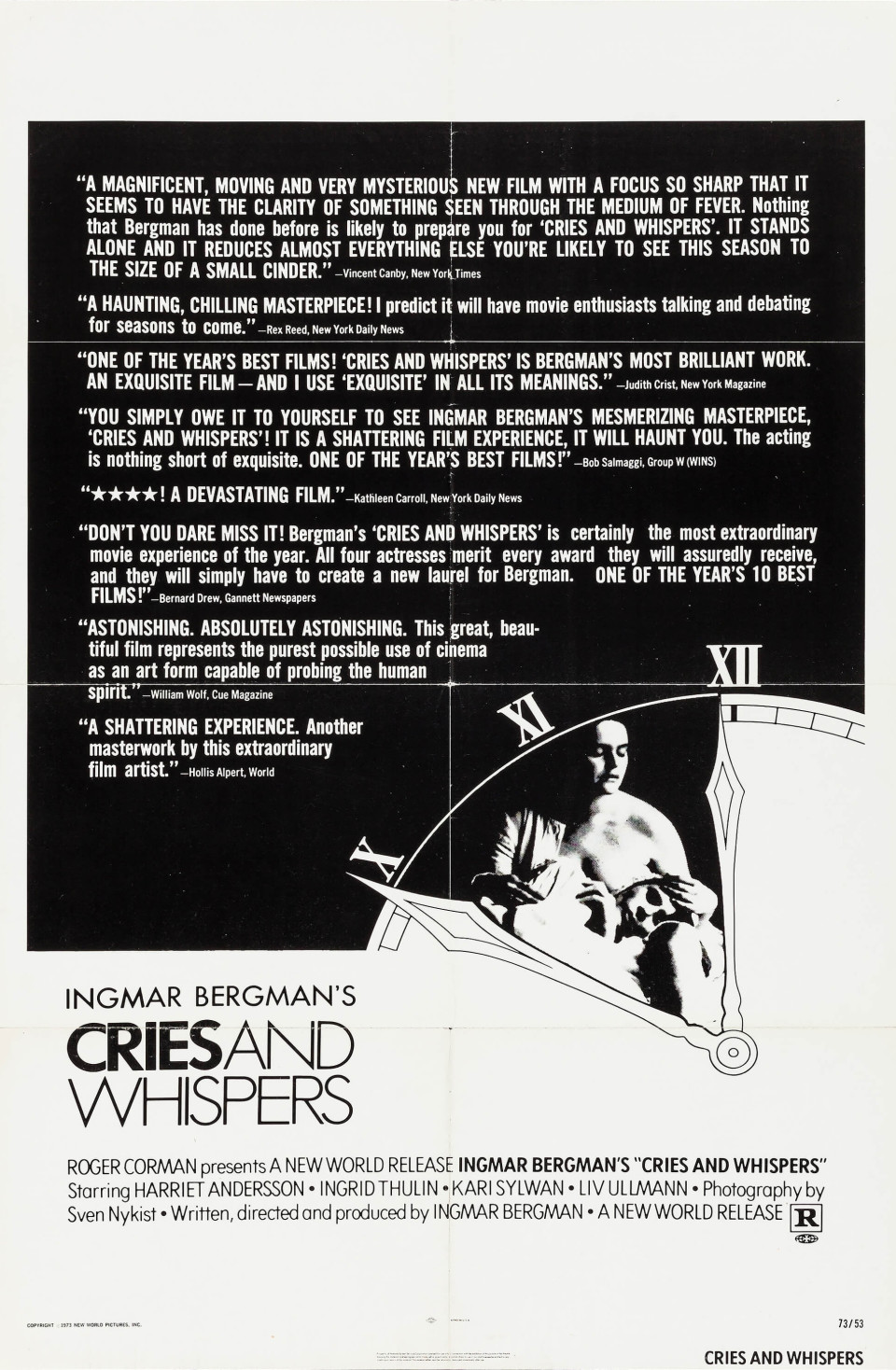 28-1972-Cries and Whispers-USonesheet