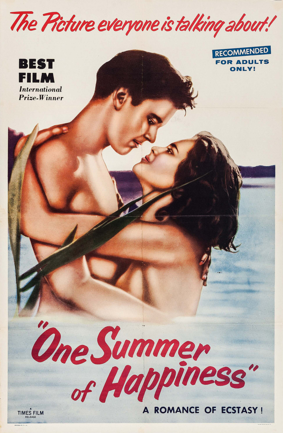 05-One Summer of Happiness-1951-one sheet-27x41-HA