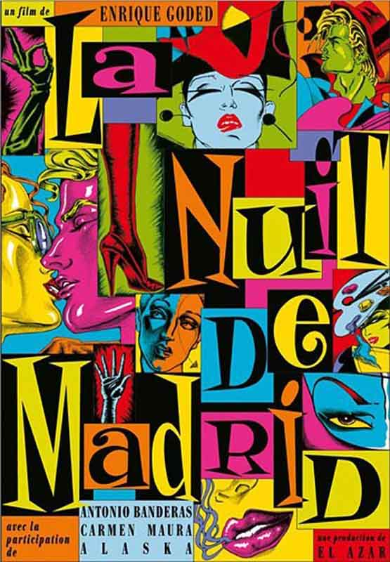 Pedro Almodóvar's posters are as sumptuous as his films