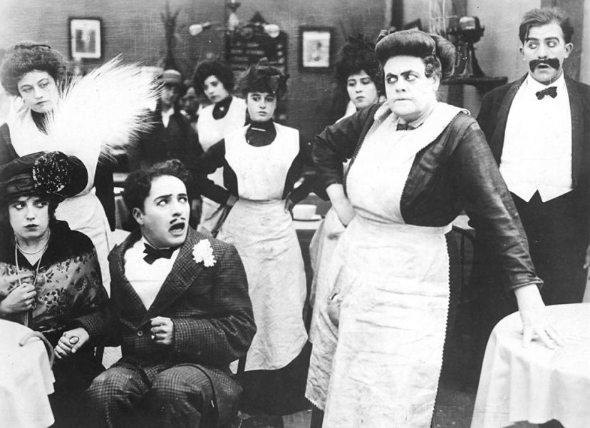 mabel-normand-charlie-chaplin-and-marie-dressler-in-tillies-punctured-romance-1914-1024x742