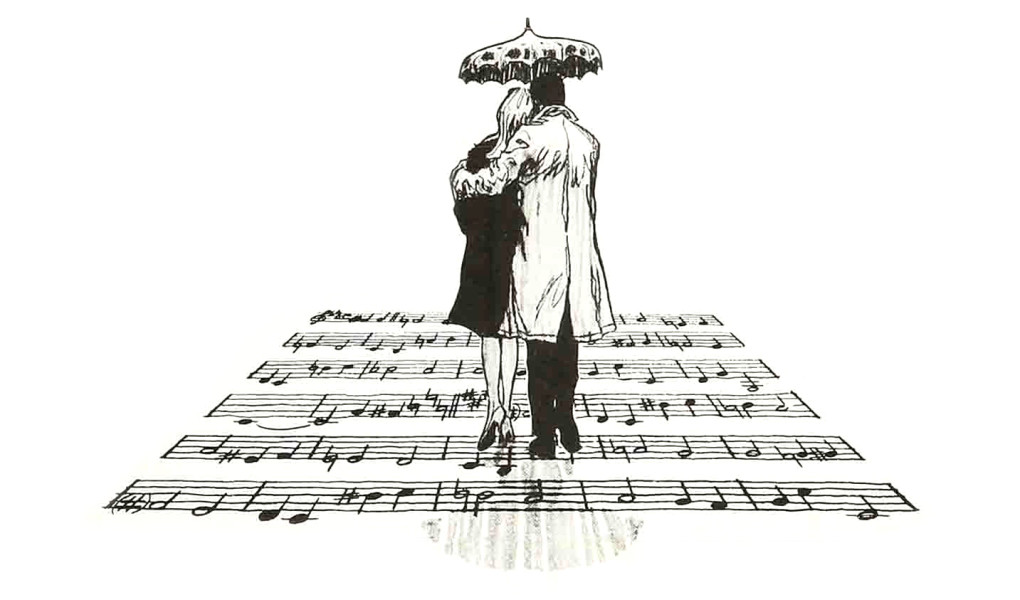 Umbrellas-poster-sketch