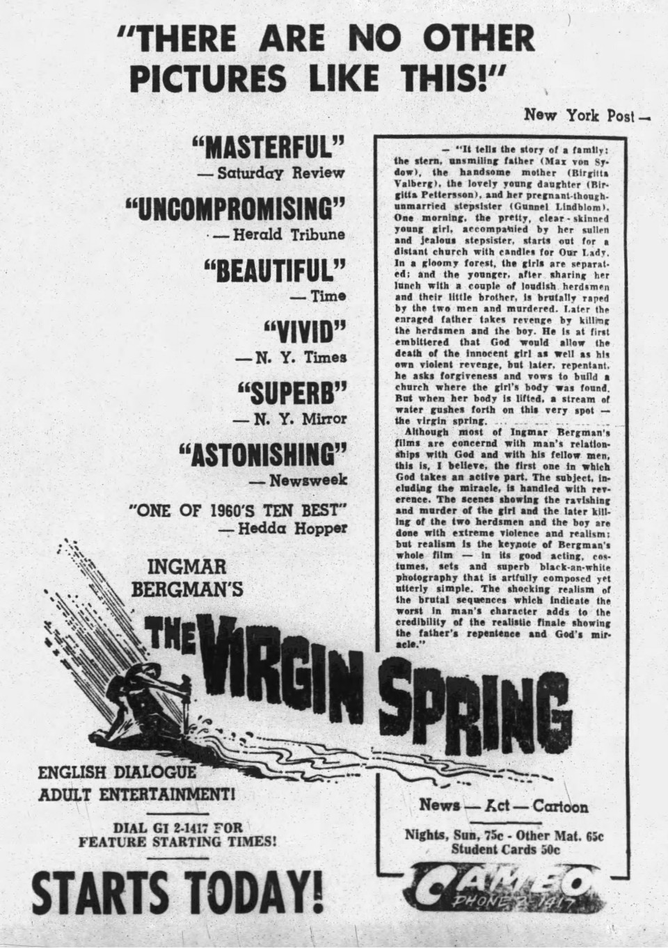 14-1961-01-22-Virgin Spring Rocky Mtn Telegram