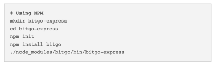Quick Start BitGo Express Image 2