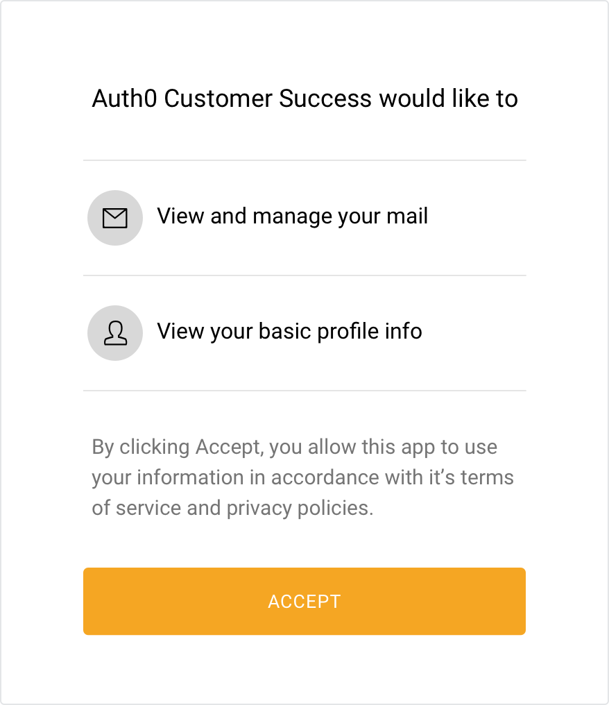 example social provider authorization