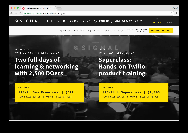 Signal Website
