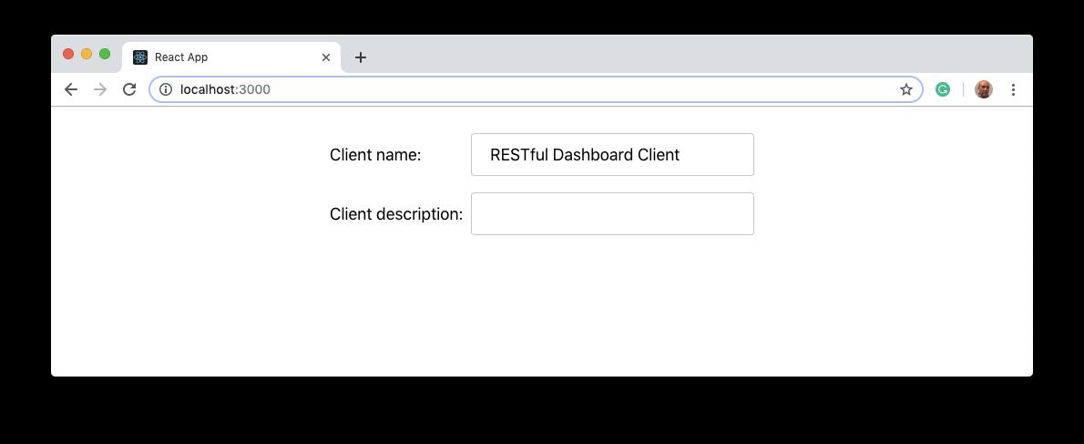 Single Auth0 application details