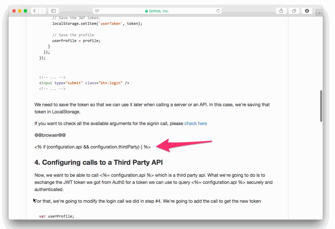 Third Party API