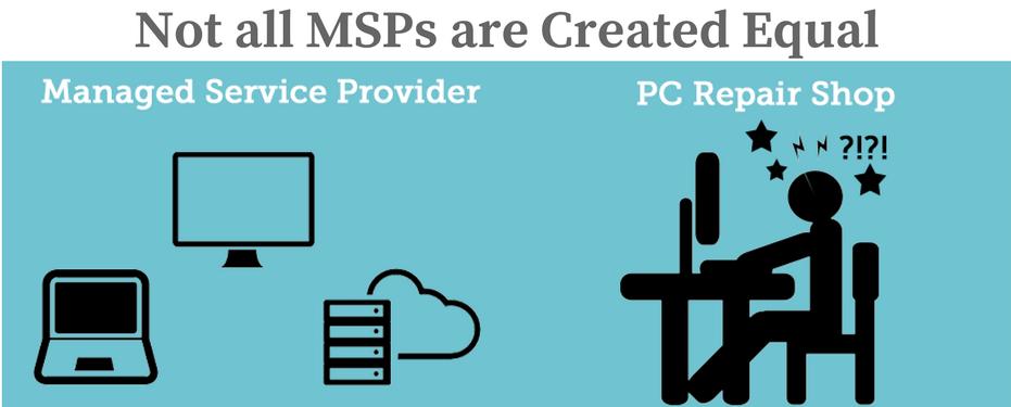MSPs vs PC Repair
