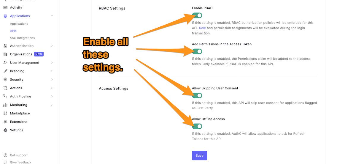 RBAC API
