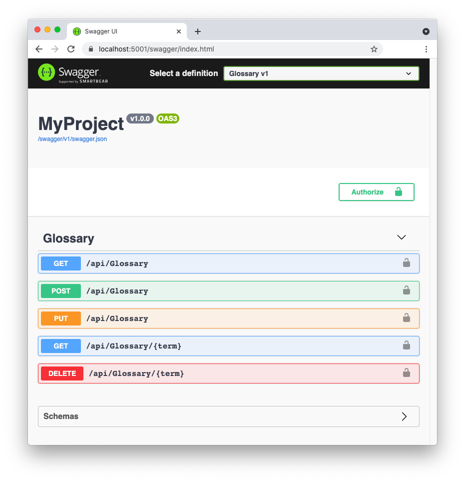 Protected Web APIs in Swagger UI