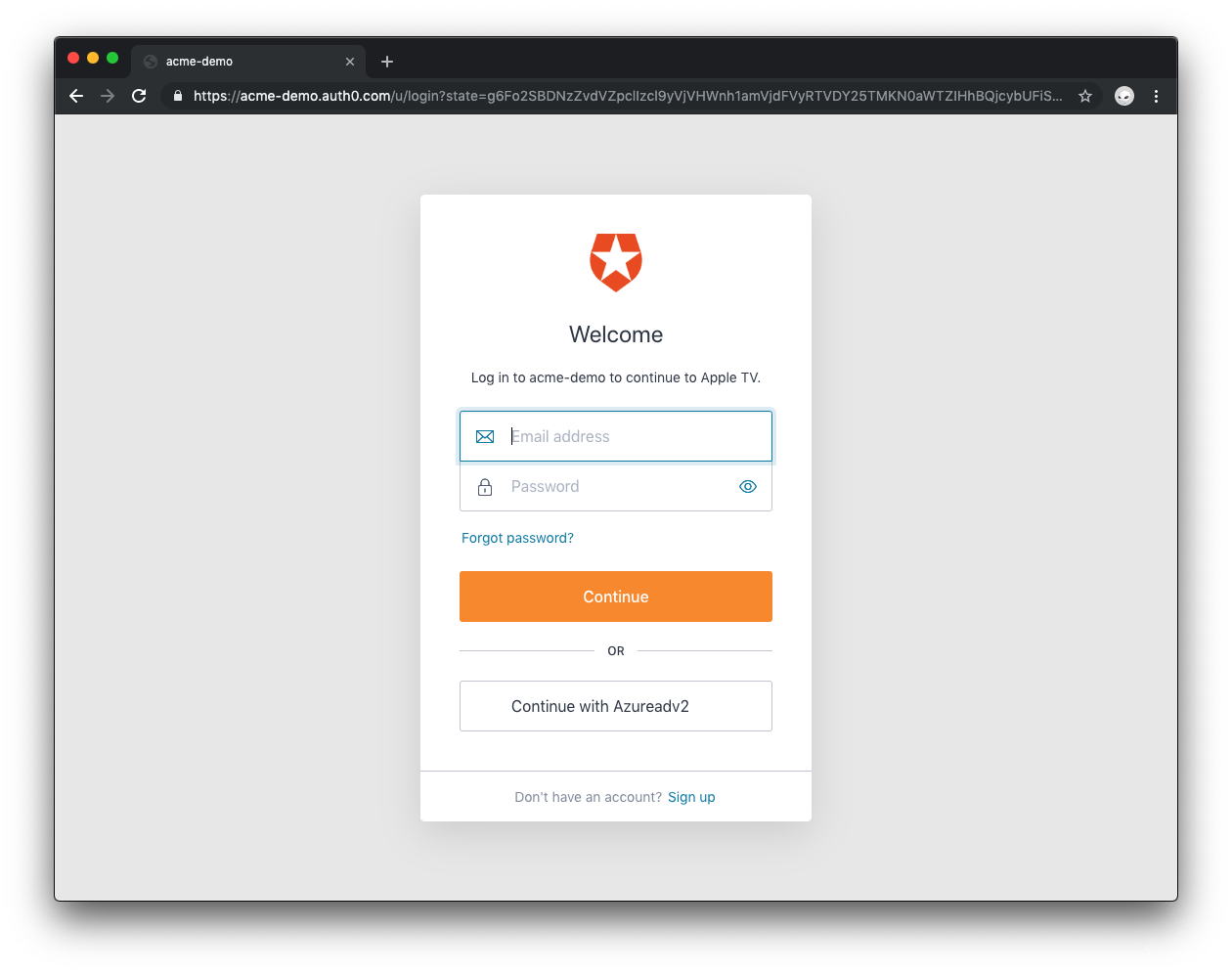 Auth0 Device Flow:ユーザー認証