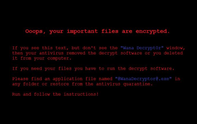 WannaCry encryption