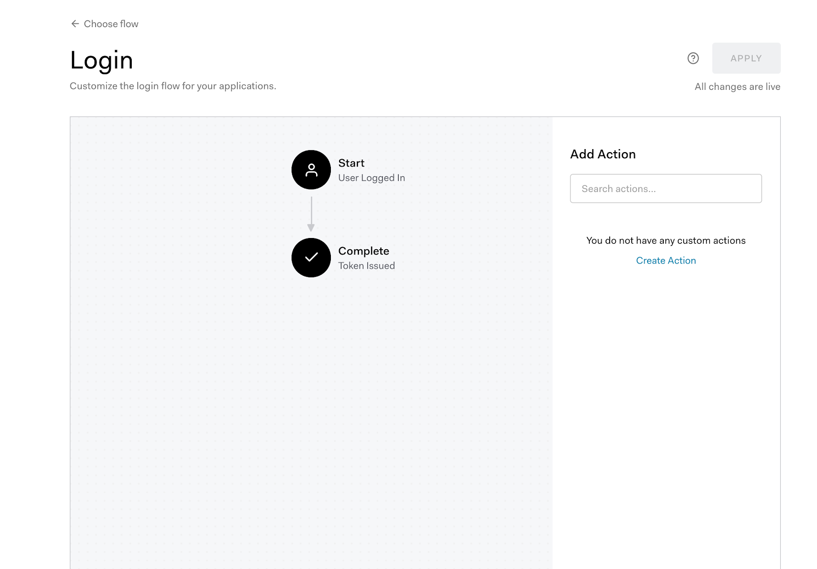 Flow Editor View